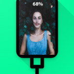 Battery charging slideshow apk